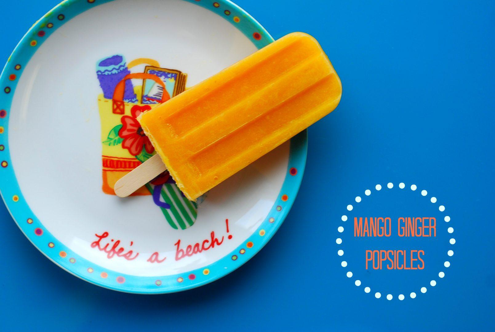 mango popsicles, how to make popsicles, mango dessert recipes