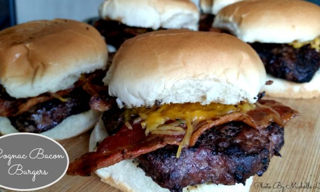 Cognac Bacon And Cheeseburgers