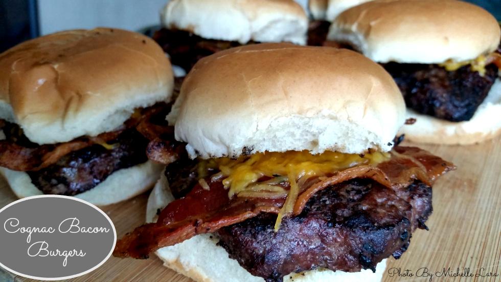 Cognac Bacon And Cheeseburgers