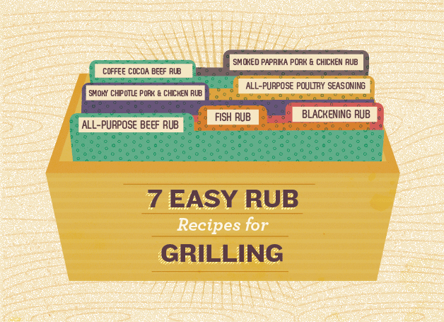 7 Easy To Make Rub Recipes