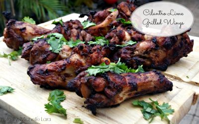 Cilantro Lime Grilled Chicken Wings