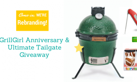 Rebrand, Anniversary and Ultimate Tailgating Giveaway including a Mini Big Green Egg!