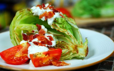 Grilled Iceberg Wedge Salad
