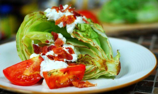 Grilled Iceberg Wedge Salad
