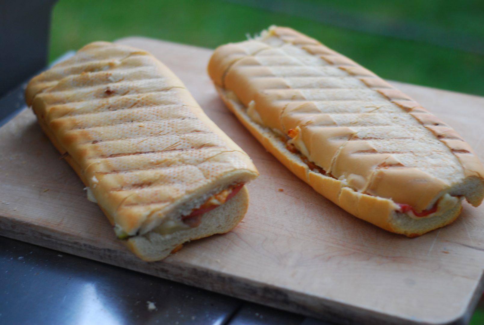 Brick Grilled Cuban Sandwich, plus an El Diablo Mustard ...