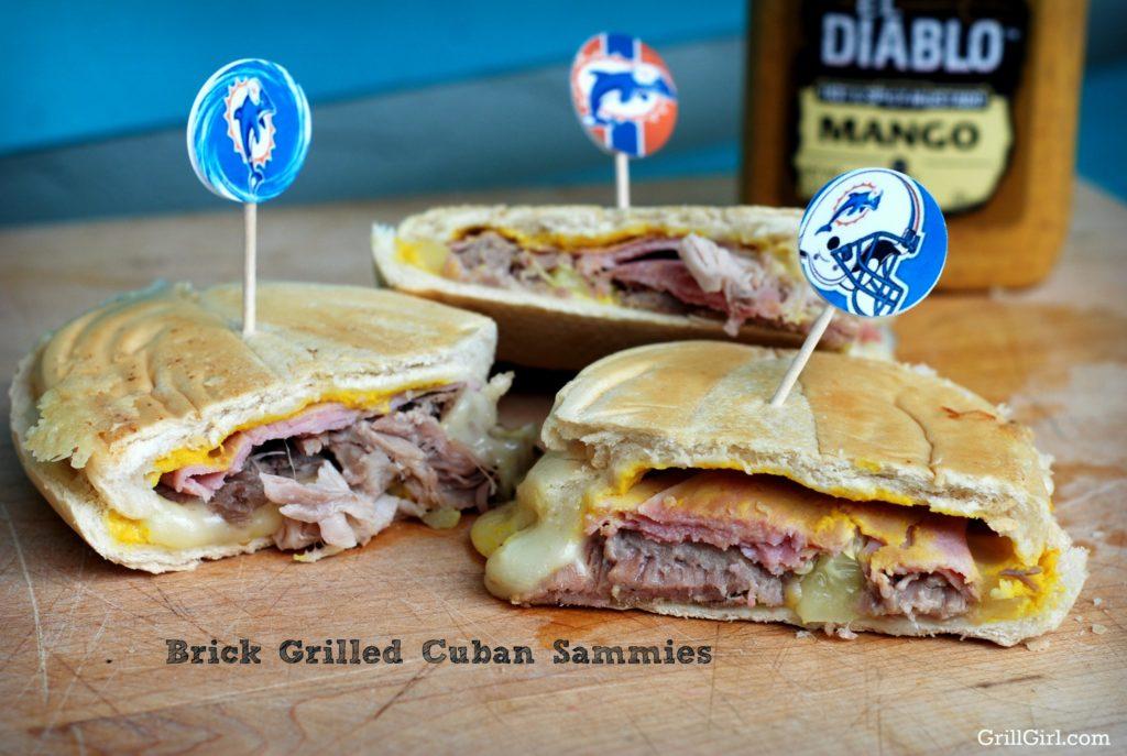 brick grilled Cuban Sandwich