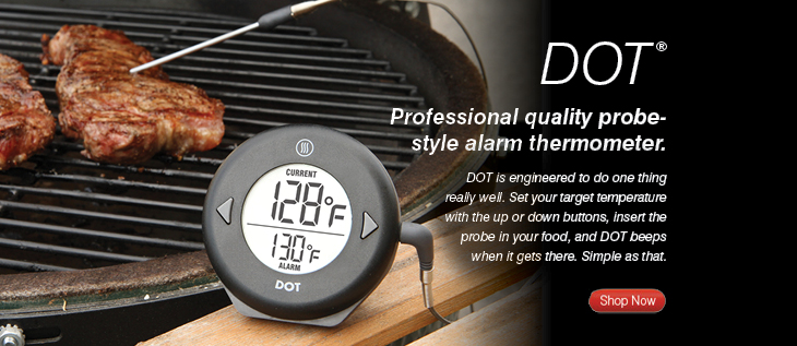 Thermoworks makes the best thermometers around- this Dot Thermometers will ensure everything is cooked to perfection on Thanksgiving.