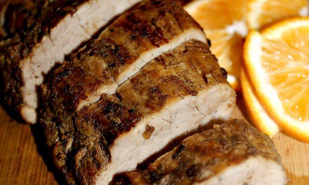 Grilled Caribbean Pork Tenderloin