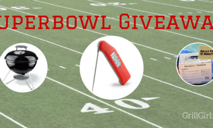 #Superbowl Thermapen, Smokey Joe & Fireqube Giveaway (plus awesome recipes)