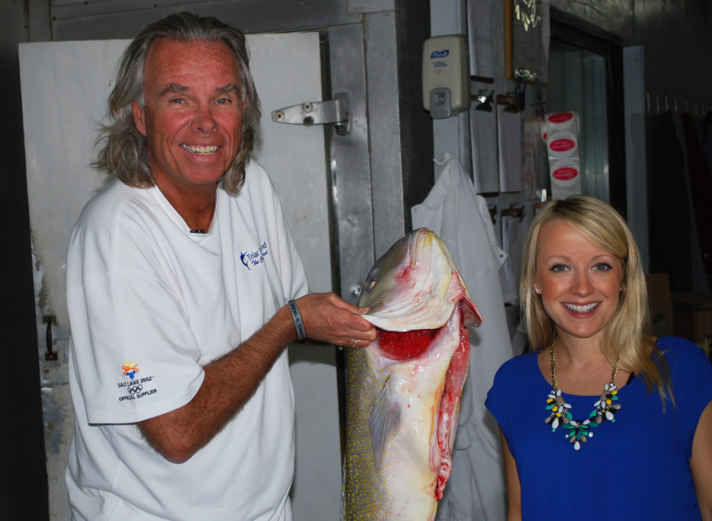 grillgirl, Peter Jarvis, owner of Triar Seafood, citrus grilled tile fish