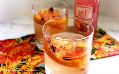 Grilled Grapefruit & Ginger Fizz