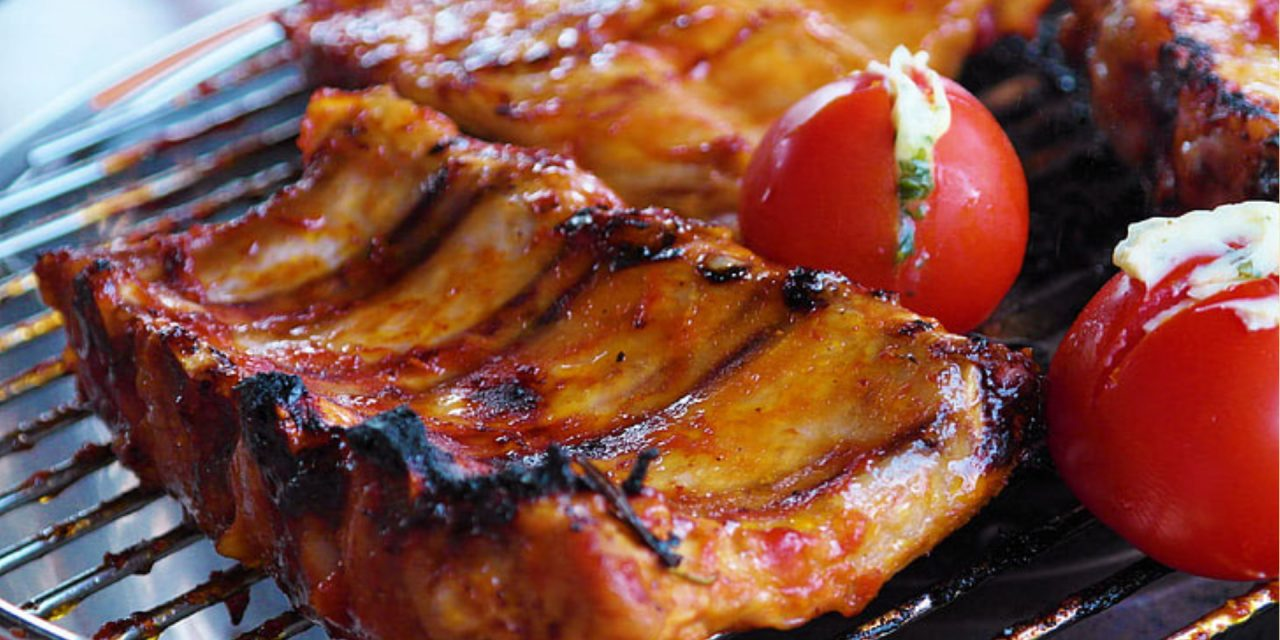 Grilled Orange Ginger BBQ Ribs