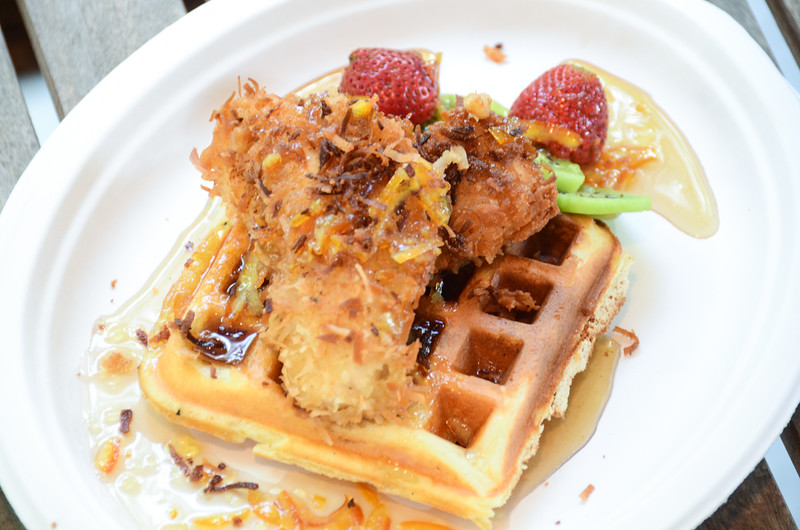 chicken and waffles cookoff