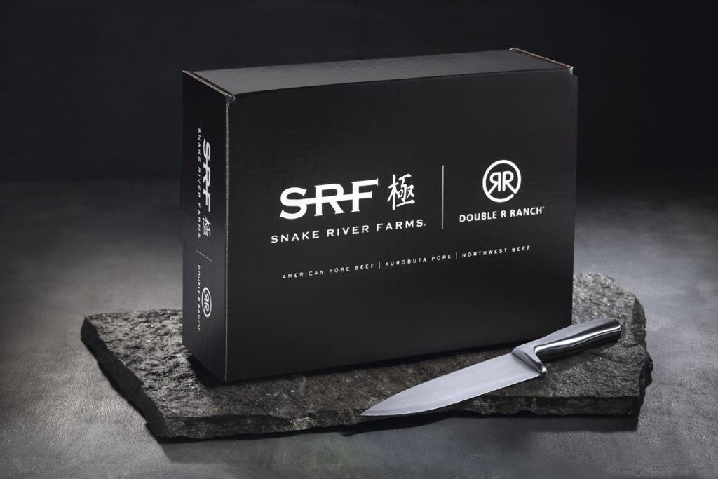 Box with Knife