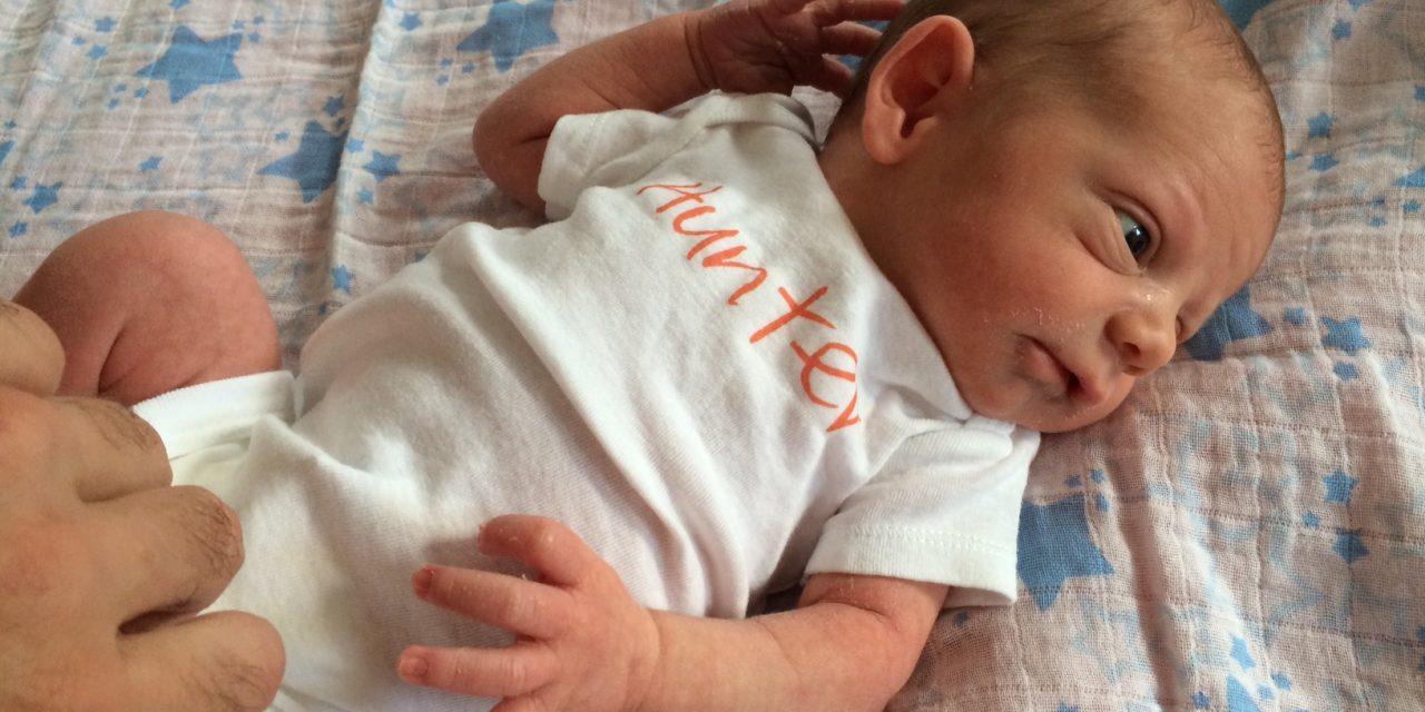 Meet Baby Hunter: Grillmaster In Training