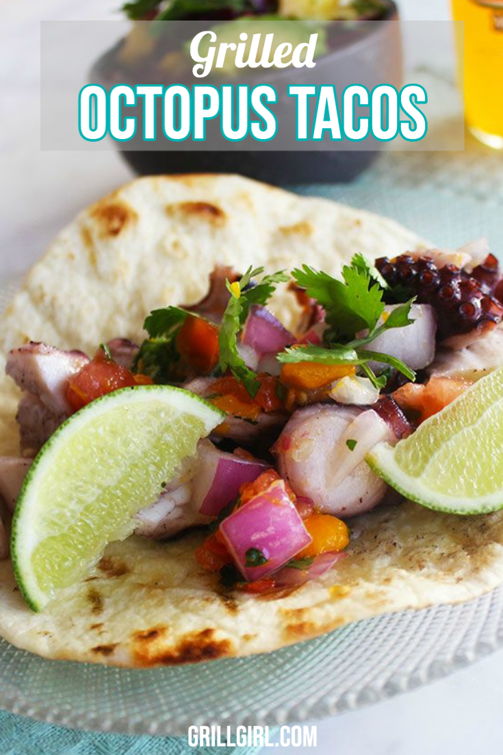 Grilled Octopus Tacos