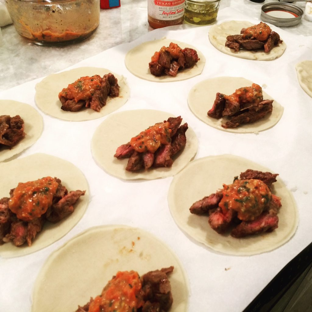 churrasco empanadas