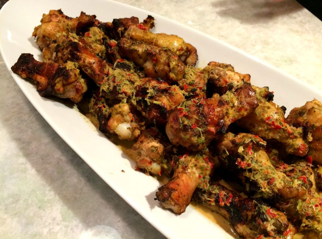 chile lemongrass wings