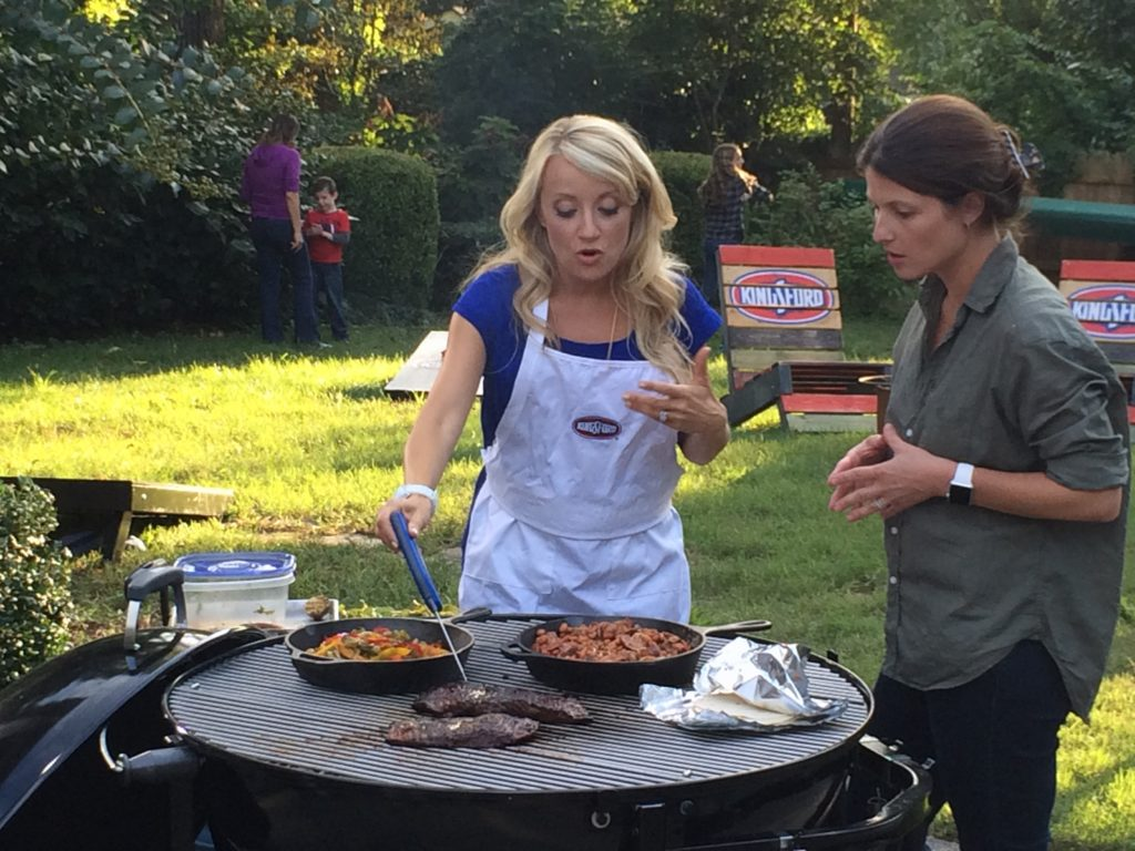 Learn how to create a fajita bar and make everything on the grill for your next party!