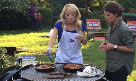 Grill For The Win, Part 2: Fajitas, Tex Mex Skillet Beans and Game Day Grilling Tips #KingsfordTailgate