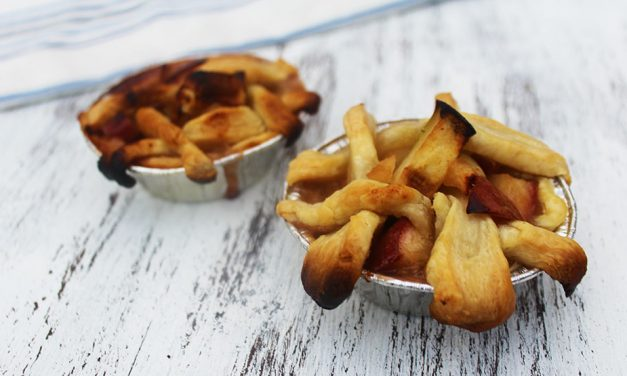 Grilled Mini Apple Pies Perfect For Game Day
