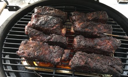 Smoked Beef Short Ribs on the Big Green Egg
