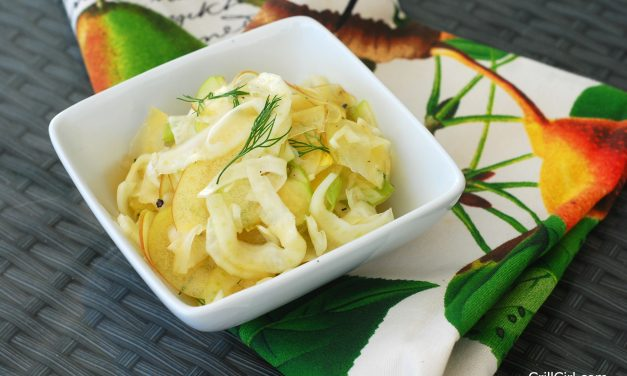 Apple Fennel Slaw (the Perfect Pairing for PORK!)