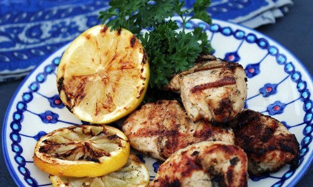 Grilled Mediterranean Inspired Chicken