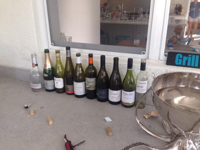 wine pairing menu