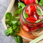 Summer Cocktail: Strawberry & Honeydew Mojito