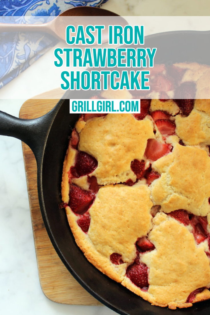 Cast Iron Strawberry Shortcake