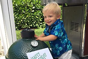 Rockstar Tips for Outdoor Entertaining, plus, Hunter's First Birthday Party