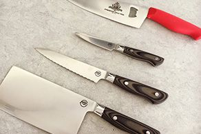 Father's Day Giveaway: Ergo Chef Michael Symon 3 Piece Cutlery Set, plus the Myron Mixon Pitmaster Tool