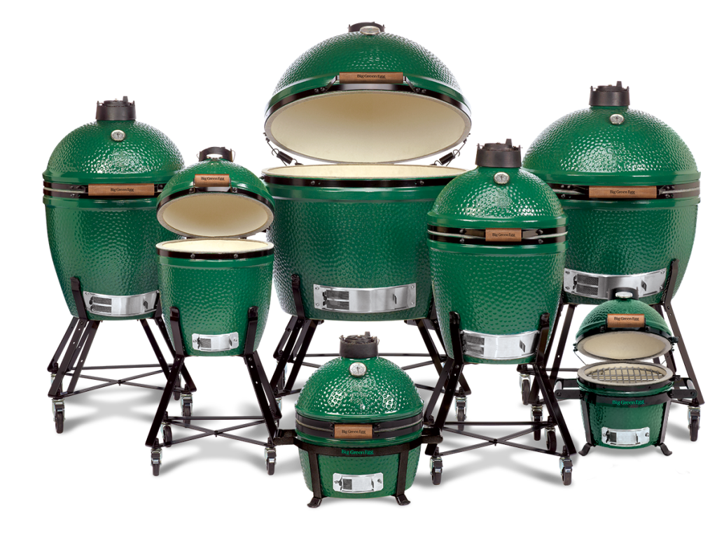 Big Green Egg Line Up