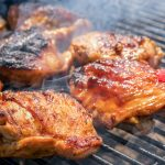 Grilled Tandoori Chicken Thighs