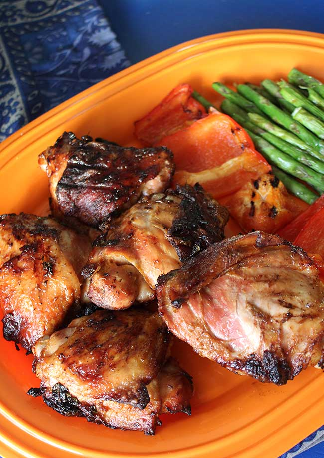Grilled Ginger & Pineapple Chicken