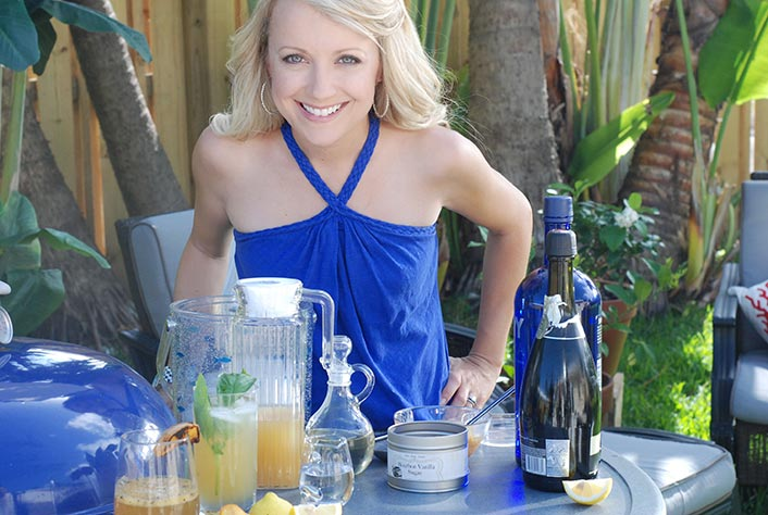 """This is a pic from my """"grilled cocktails"""" webisodes as found on my youtube channel."""