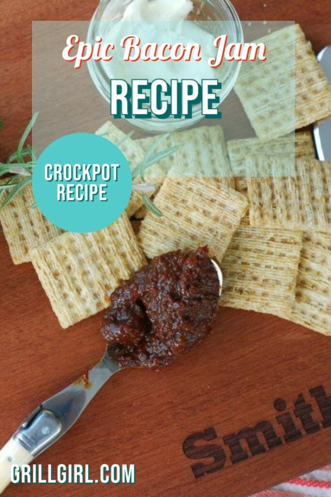 Bacon Jam Recipe; Crockpot Bacon Jam