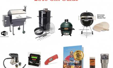 Top 10 Holiday Gifts for Grillers and Foodies