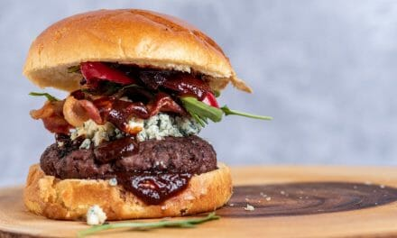 Red, White and Blue Burgers on the Pitbarrel Cooker