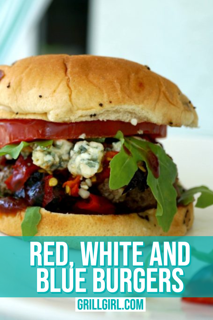 Red White Blue Burgers