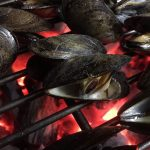how to grill mussels