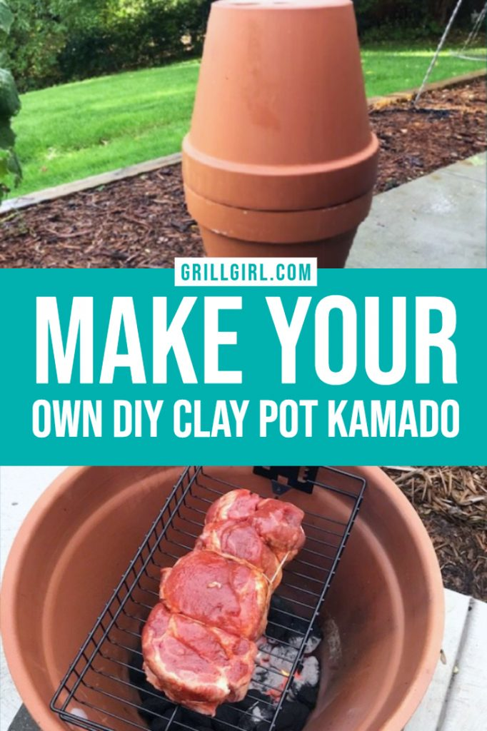 make your own clay pot kamado