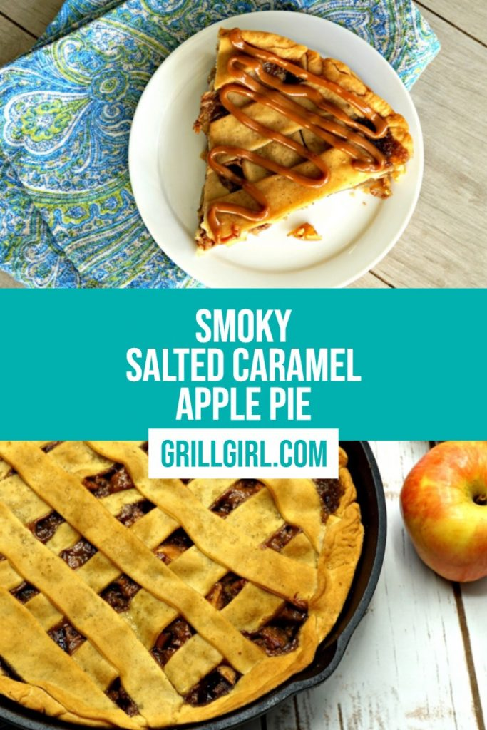 grill girl apple pie with salted caramel pinterist