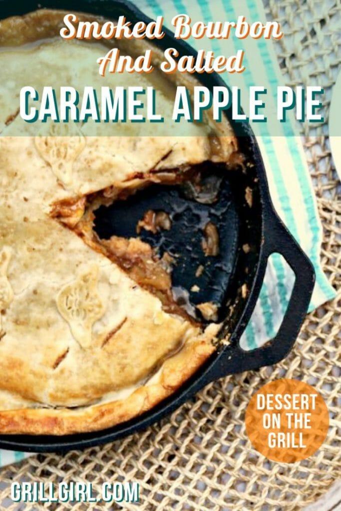 Caramel apple pie recipe, apple pie, cast iron apple pie