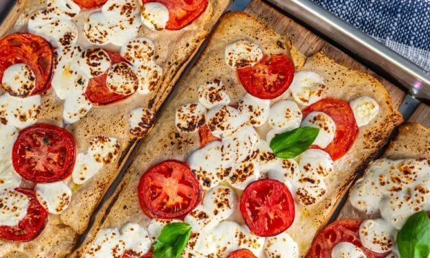 Grilled Pizza on Cedar Planks