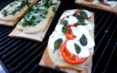 Cedar Planked Pizza on the Grill