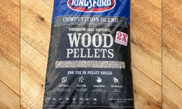 Kingsford Premium Wood Pellets Review