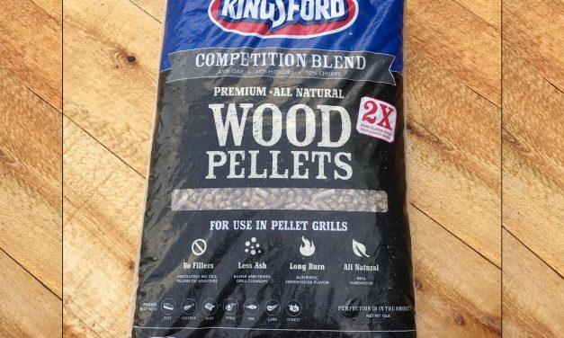 Kingsford Premium Wood Pellets Review