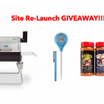 Website Re-Launch GRILL GIVEAWAY (Closed)